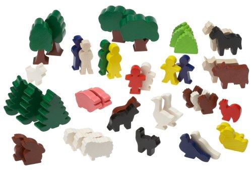 HABA 1081 - Figure colorate - Go Go Animali Set