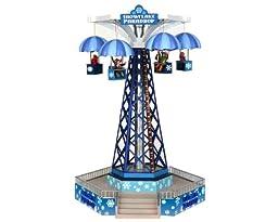 Lemax 34634 Snowflake Paradrop Carnival Ride Amusement Park Christmas Village