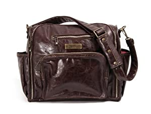 Ju-Ju-Be Be Fabulous Earth Leather Diaper Bag by Ju-Ju-Be
