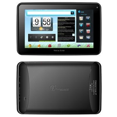 Visual Land Prestige 7 Tablet Black (me-107-8gb-blk) -