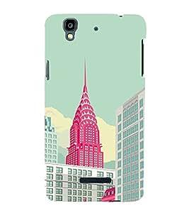 EPICCASE New york new life Mobile Back Case Cover For YU Yureka Plus (Designer Case)