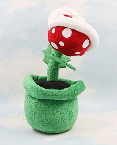 "8"" Piranha Plant of Super Mario Bros Plush Doll Stuffed Animals Toys Gifts"