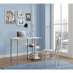 Mainstays Basic Student Desk.Model: 9120596W /Color:White