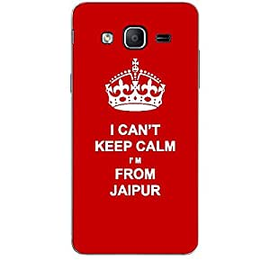 Skin4gadgets I CAN'T KEEP CALM I'm FROM JAIPUR - Colour - Red Phone Skin for SAMSUNG GALAXY ON5