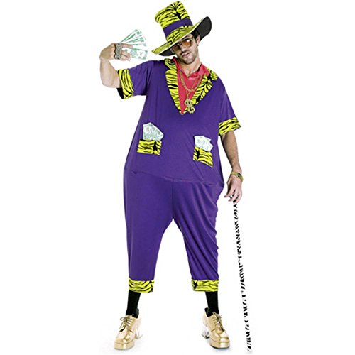 Phat Pimp Adult Costume - One Size
