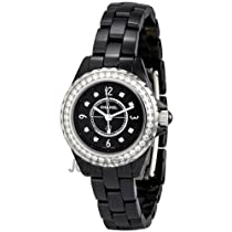 Chanel J12 Black Ceramic Quartz Ladies Watch H2571