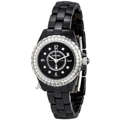 Chanel J12 Black Ceramic Quartz Ladies Watch H2571