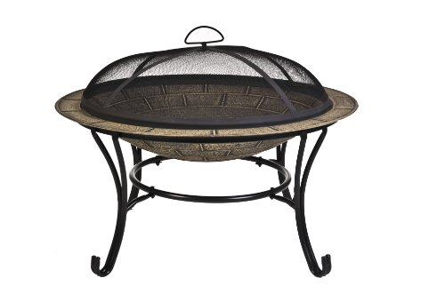 CobraCo Brick Finish Cast Iron Fire Pit