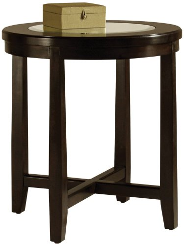 Buy low price magnussen gaston wood round end table t1346 05 for Buy round table