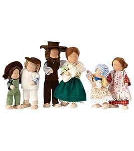 Kathe Kruse Poseable Pioneer Dollhouse Doll, in Little Girl