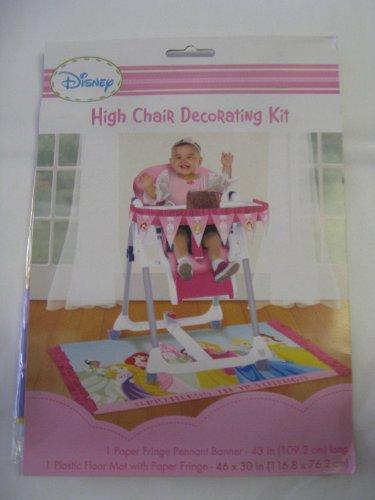 Imagen de Disney Princess primera Kit Cumpleaños Silla Alta Decoración