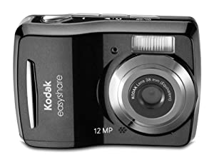 Kodak Easyshare C1505 12 MP Digital Camera with 5x Digital Zoom - Black
