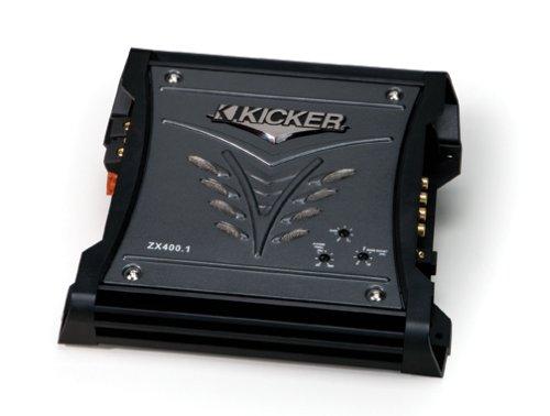 Kicker 08ZX4001 400-Watt Class D Mono Subwoofer Amplifier