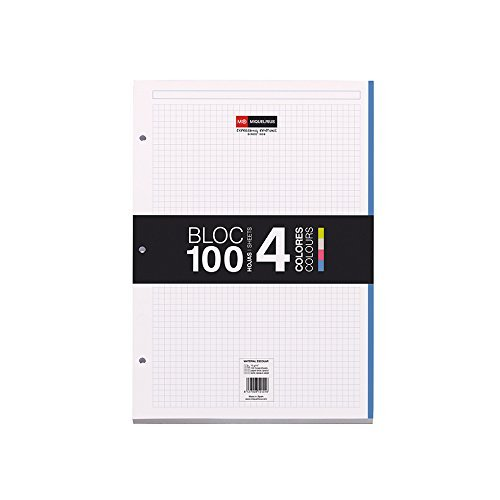 miquel-rius-100-sheet-notebook-pad-85-inch-x-11-inch-graph-acrylic-multicoloured-2-piece