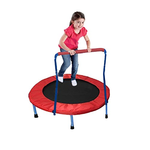 Dazzling-Toys-36-Foldable-Trampoline-with-Handles-Greatest-Gift-Ever