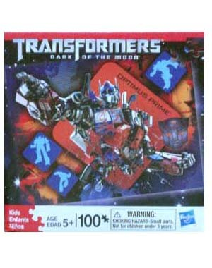 Cheap Hasbro Transformers 3 Dark of the Moon Optimus Prime 100 Piece Puzzle (B0056GM2OK)