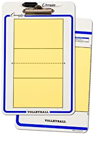 Buy Champion Sports Volleyball Dry Erase Coach Clipboards by Champion Sports