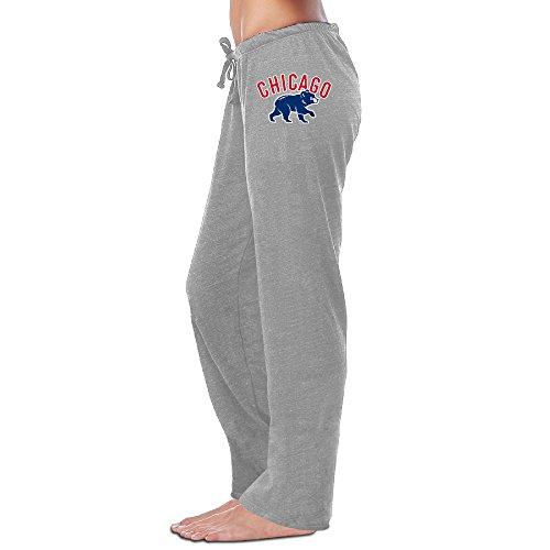 Show Time Women's Chicago Baseball Cubs Athletics Home Wear Sweatpants Ash L (Xbox 360 Ventilation compare prices)