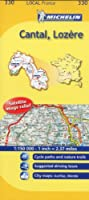Michelin Map France: Cantal, Lozre 330