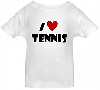 a754bf24 I LOVE TENNIS BigBoyMusic Toddler T shirt size Large (4T) on PopScreen