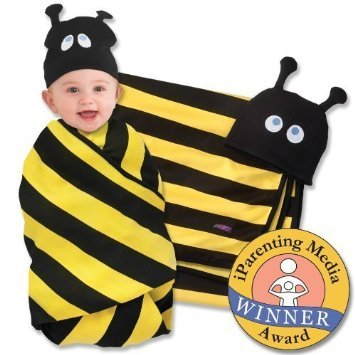 SOZO Beehave Swaddle Blanket & Cap Set