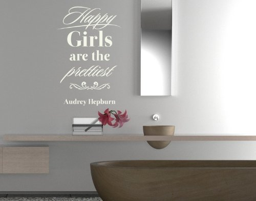 Style & Apply - Happy Girls - Wall Decal, Sticker, Mural Vinyl Art Home Decor