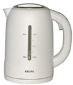 KRUPS FLF2J1 Cordless Electric Kettle, White