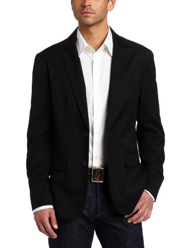 Kenneth Cole Men's Two-Button Solid Blazer
