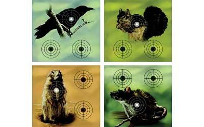 Crosman Varmint Targets, 20-Pack