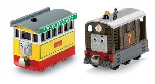 Thomas the Train: Take-n-Play Toby and Flora Two-pack
