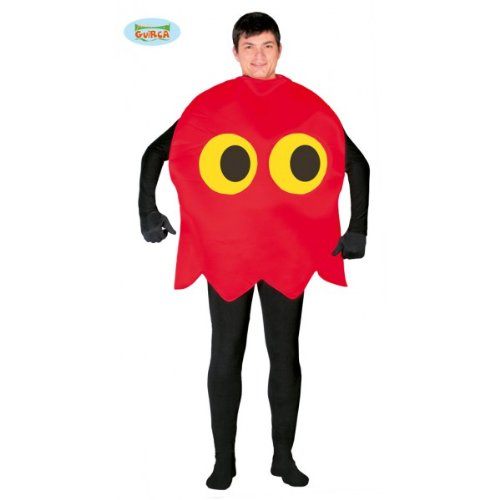 Adults Pac-Man Ghost Costume.