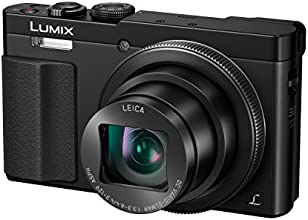 Panasonic DMC-TZ71EG-K Lumix Kompaktkamera (12 Megapixel, 30-fach opt. Zoom, 7,6 cm (3 Zoll) LCD-Display, Full HD, WiFi, USB 2.0) schwarz