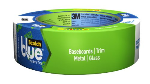 ScotchBlue Painter's Tape, Advanced Multi-Surface, 1.41-Inch by 60-Yard