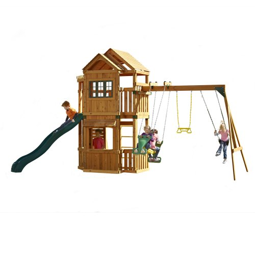 Swing-N-Slide Mountain Hollow Swing Set front-340152