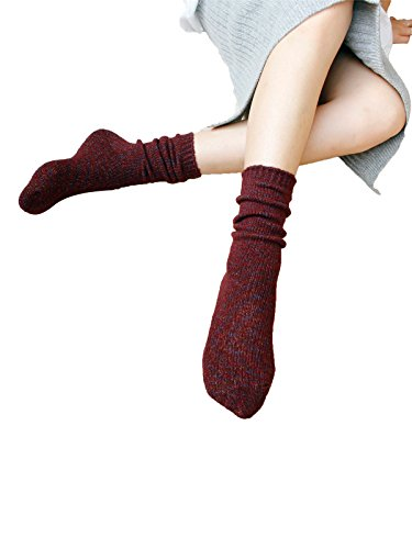 Zando -  Calze sportive  - Donna rosso scuro Taglia unica