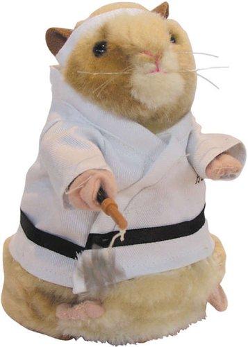 Dancing Hamster - Kung Fu Hamster
