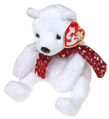 TY Beanie Baby - 2000 HOLIDAY TEDDY - 1