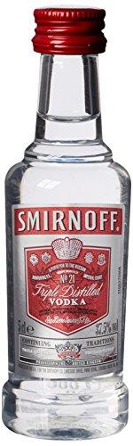 Smirnoff discount duty free Smirnoff Red Label Vodka 5cl Miniature