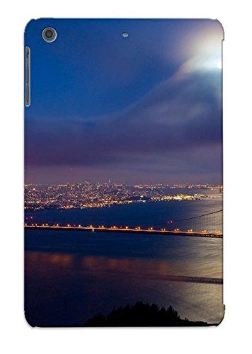 Hot New Golden Gate Bridge At Night Case Cover For Ipad Mini/Mini 2 With Perfect Design