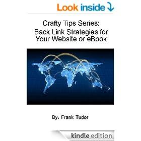 Back Link Strategies for Your Website or eBook (Crafty Tips)