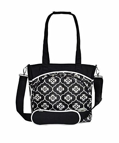 JJ Cole Mode Diaper Bag, Black Floret (Discontinued by Manufacturer)