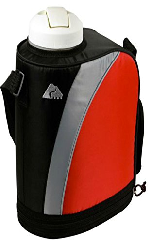 Ozark Trail 1-Gallon Insulated Jug - Red - Bpa-Free front-205186