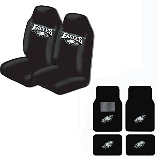 philadelphia eagles seat covers price compare. Black Bedroom Furniture Sets. Home Design Ideas