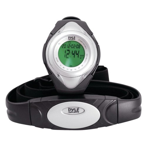 Pyle Sports Heart Rate Monitor Watch with Minimum, Average Heart Rate, Calories, Target Zones