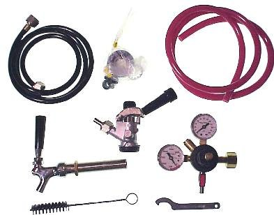 Keg Conversion Kit for Refrigerator (Convert a Standard Refrigerator to a Kegerator) (Keg Refrigerator Conversion Kit compare prices)