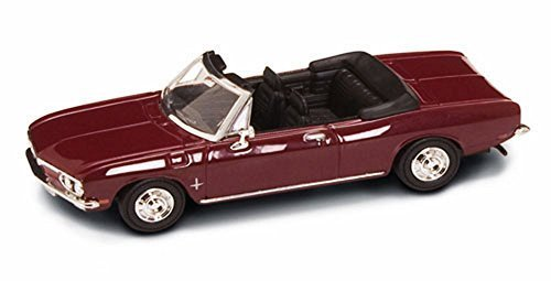1969 Chevrolet Corvair Monza Convertible, Burgundy - Road Signature 94241 - 1/43 Scale Diecast Model Toy Car (Corvair Model compare prices)