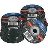 Draper 41553 115 mm x 22.2 mm x 1 mm Flat Metal-Cutting Wheel (Box of 100)