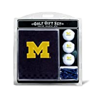 NCAA Michigan Embroidered Team Golf Towel Gift Set