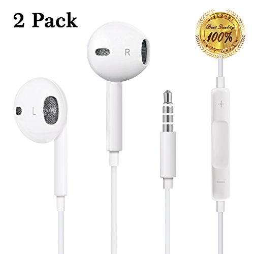 Earbuds with volume control on cord - apple earbuds with lightning connector