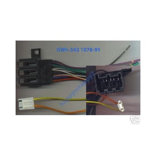 amazon com  stereo wire harness chevy chevette 78 79 80 81
